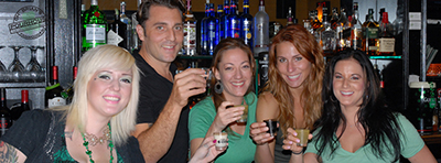 bartenders at Oh' Brian's Pourhouse in Fanwood, NJ!